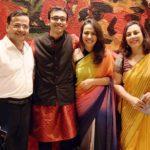 Ragini Tandan with her family