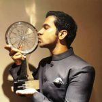 Rajkummar Rao With His CNN-IBN Indian of the Year - Entertainment