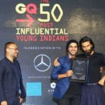 Rajkummar Rao With His GQ Men of the Year Award - Actor of the Year