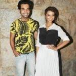 Rajkummar Rao With Patralekha