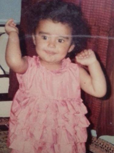 Rashi Raga during her childhood