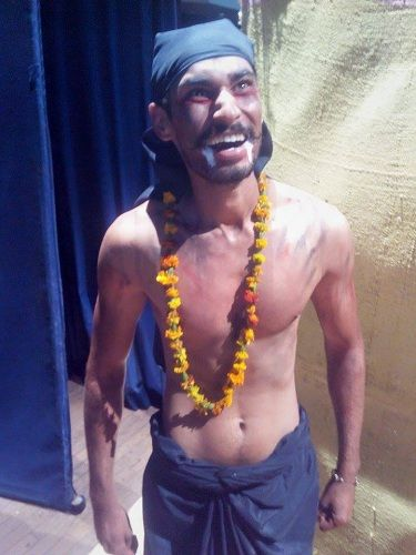 Rimple Dhindsa as a theatre artist