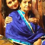 Neena Bundhel with her mother