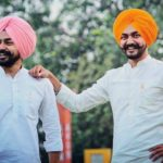 Supneet Singh with his brother