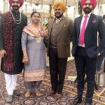 Supneet Singh with his family