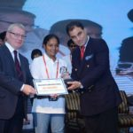 Arunima Sinha With Aspire Young Achiever Award