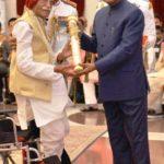 Mahashay Dharampal Gulati Honoured With Padma Shri By Ram Nath Kovind