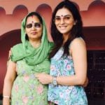 Mansi Sharma With Her Mother