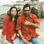 Mukhtar Abbas Naqvi With His Wife Seema
