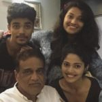 Pooja Sawant with her father and siblings