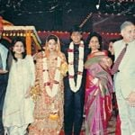 Shah Rukh Khan & Gauri On Their Wedding Day