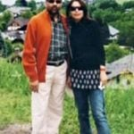 Mukhtar Abbas Naqvi With His Wife Seema Naqvi