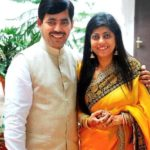 Shahnawaz Hussain With His Wife