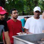 Ambati Rayudu Eating Chicken
