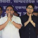 Anand Kumar with Akash Anand