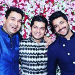 Dheeraj Dhooper with his brothers