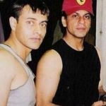 Gauri Khan's Brother Vikrant Chibber With Shah Rukh Khan