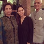 Gauri Khan With Her Parents