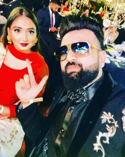 Hans Raj Hans' elder son and daughter in law