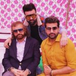 Hans Raj Hans with his sons
