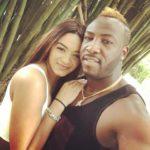 Jassym Lora with her husband