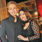 Jawed Habib with Wife Shaheen Habib