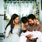 Jr. N. T. Rama Rao with His Wife And Kids