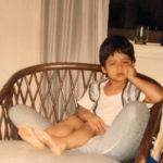 Karan Kapadia Childhood Picture