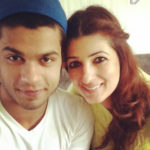 Karan Kapadia With Sister Twinkle Khanna