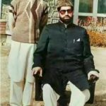 Mirwaiz Umar Farooq with Father Late Mirwaiz Maulvi Farooq