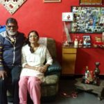 Mithali Raj Parents Sitting in Their House in Secunderabad