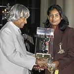 Mithali Raj Receiving Padma Shri