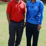 Mithali Raj With Her Coach R. S. R. Murthy