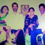 Mithali Raj With Her Parents And Brother Mithun