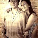 Moon Moon Sen With Her Husband Bharat Dev Verma