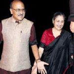 Shekhar Gupta With Wife Neelam Jolly