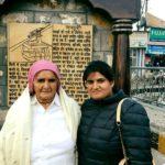 Prakashi Tomar with her daughter Seema Tomar