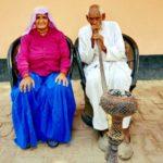 Prakashi Tomar with her husband jai Singh