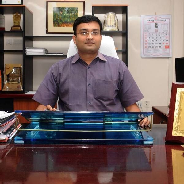Prasanth Nair in his office