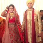 Rohit Shekhar Tiwari Wedding Photo With Apoorva Shukla