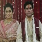 Rohit Shekhar Tiwari With His Wife Apoorva Shukla
