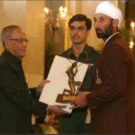 Sardar Singh Receiving Arjuna Award
