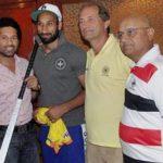 Sardar Singh with Sachin Tendulkar