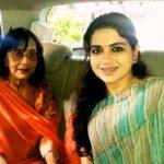 Shaina NC With Sadhana Shivdasani