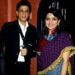 Shaina NC With Shah Rukh Khan