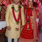 Sharad Malhotra And Ripci Bhatia's Wedding Photo