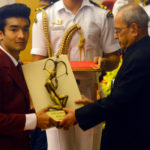 Shiva Thapa Receiving Arjuna Award