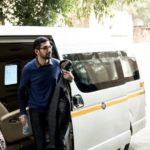 Sundar Pichai in his car