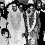 Sanjay Gandhi And Maneka Gandhi After Getting Married