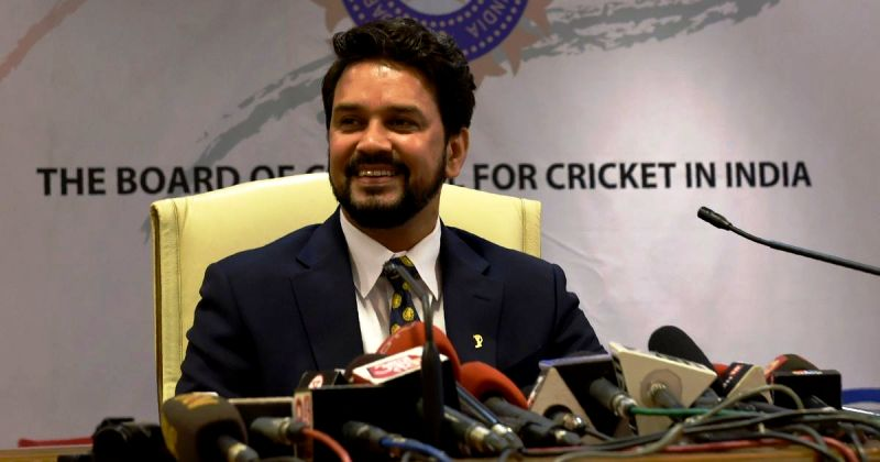 Anurag Thakur On His First Day As The BCCI President